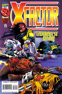 Cover Thumbnail for X-Factor (Marvel, 1986 series) #120 [Direct Edition]