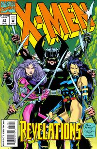 Cover Thumbnail for X-Men (Marvel, 1991 series) #31 [Direct Edition]