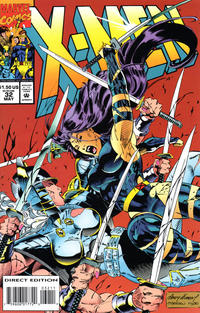 Cover Thumbnail for X-Men (Marvel, 1991 series) #32 [Direct Edition]