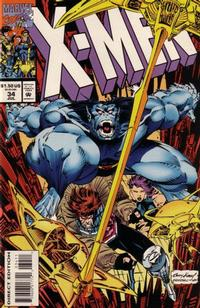 Cover Thumbnail for X-Men (Marvel, 1991 series) #34 [Direct Edition]