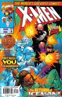 Cover Thumbnail for X-Men (Marvel, 1991 series) #66 [Direct Edition]