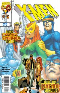 Cover Thumbnail for X-Men (Marvel, 1991 series) #71 [Direct Edition]