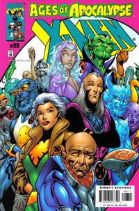 Cover Thumbnail for X-Men (Marvel, 1991 series) #98 [Direct Edition]