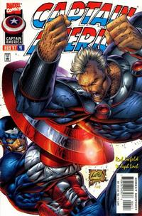 Cover Thumbnail for Captain America (Marvel, 1996 series) #4 [Newsstand Edition]