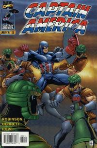 Cover Thumbnail for Captain America (Marvel, 1996 series) #9 [Direct Edition]