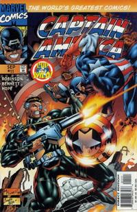 Cover Thumbnail for Captain America (Marvel, 1996 series) #11 [Direct Edition]