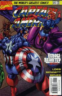 Cover Thumbnail for Captain America (Marvel, 1996 series) #12 [Direct Edition]