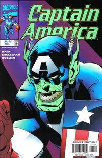 Cover Thumbnail for Captain America (Marvel, 1998 series) #6 [Direct Edition]