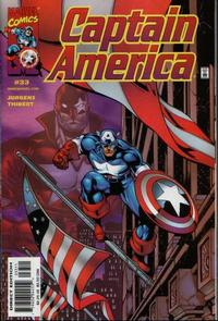 Cover Thumbnail for Captain America (Marvel, 1998 series) #33 [Direct Edition]