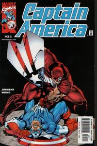 Cover Thumbnail for Captain America (Marvel, 1998 series) #35 [Direct Edition]