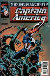 Cover Thumbnail for Captain America (Marvel, 1998 series) #36 [Direct Edition]