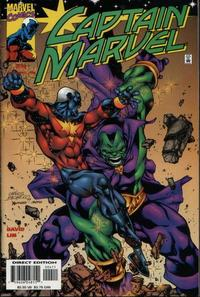 Cover Thumbnail for Captain Marvel (Marvel, 2000 series) #4 [Direct Edition]