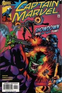 Cover Thumbnail for Captain Marvel (Marvel, 2000 series) #6 [Direct Edition]
