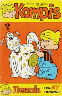 Cover Thumbnail for Dennis (Semic, 1969 series) #2/1969