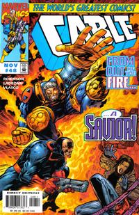 Cover for Cable (Marvel, 1993 series) #48 [Direct Edition]