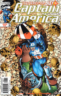 Cover Thumbnail for Captain America (Marvel, 1998 series) #8 [Direct Edition]