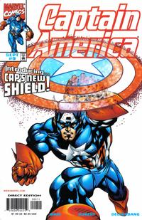 Cover Thumbnail for Captain America (Marvel, 1998 series) #9 [Direct Edition]