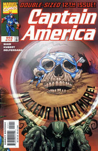 Cover Thumbnail for Captain America (Marvel, 1998 series) #12 [Direct Edition]