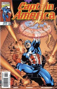 Cover Thumbnail for Captain America (Marvel, 1998 series) #13 [Direct Edition]