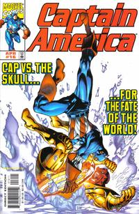 Cover Thumbnail for Captain America (Marvel, 1998 series) #16 [Direct Edition]