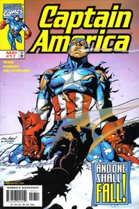 Cover Thumbnail for Captain America (Marvel, 1998 series) #17 [Direct Edition]