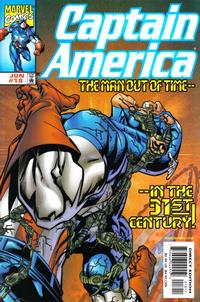 Cover Thumbnail for Captain America (Marvel, 1998 series) #18 [Direct Edition]