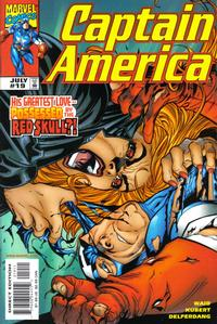 Cover Thumbnail for Captain America (Marvel, 1998 series) #19 [Direct Edition]