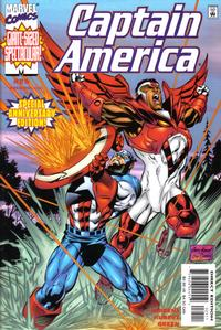 Cover Thumbnail for Captain America (Marvel, 1998 series) #25 [Direct Edition]