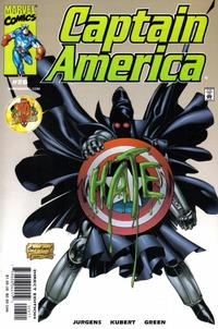 Cover Thumbnail for Captain America (Marvel, 1998 series) #26 [Direct Edition]
