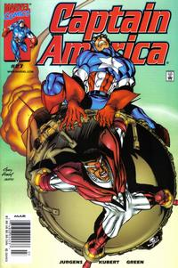 Cover Thumbnail for Captain America (Marvel, 1998 series) #27 [Newsstand Edition]