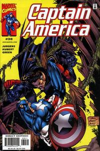 Cover Thumbnail for Captain America (Marvel, 1998 series) #30 [Direct Edition]