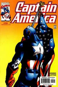 Cover Thumbnail for Captain America (Marvel, 1998 series) #40 [Direct Edition]