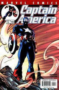 Cover Thumbnail for Captain America (Marvel, 1998 series) #42 (509) [Direct Edition]