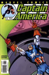 Cover Thumbnail for Captain America (Marvel, 1998 series) #43 (510) [Direct Edition]