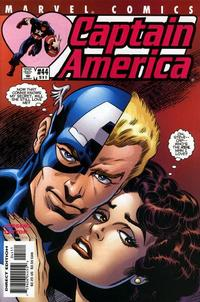Cover Thumbnail for Captain America (Marvel, 1998 series) #44 (511) [Direct Edition]