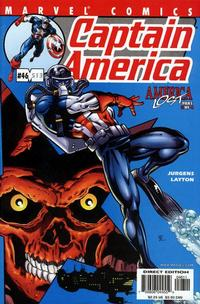 Cover Thumbnail for Captain America (Marvel, 1998 series) #46 (513) [Direct Edition]