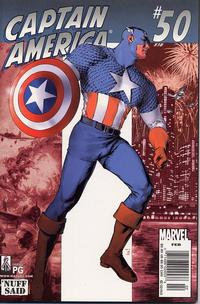Cover Thumbnail for Captain America (Marvel, 1998 series) #50 (518) [Newsstand Edition]
