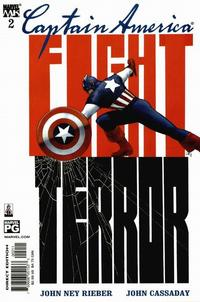 Cover Thumbnail for Captain America (Marvel, 2002 series) #2 [Direct Edition]