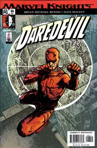Cover Thumbnail for Daredevil (Marvel, 1998 series) #26 (406) [Direct Edition]