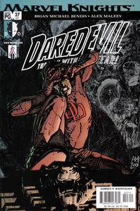 Cover Thumbnail for Daredevil (Marvel, 1998 series) #27 (407) [Direct Edition]