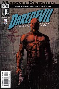 Cover Thumbnail for Daredevil (Marvel, 1998 series) #28 (408) [Direct Edition]