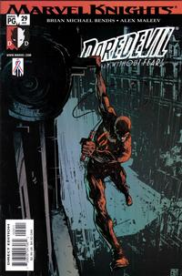 Cover Thumbnail for Daredevil (Marvel, 1998 series) #29 (409) [Direct Edition]