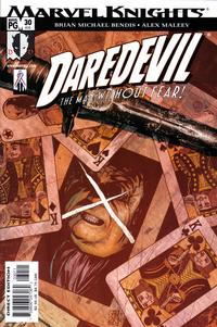 Cover Thumbnail for Daredevil (Marvel, 1998 series) #30 (410) [Direct Edition]