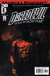 Cover Thumbnail for Daredevil (Marvel, 1998 series) #31 (411) [Direct Edition]