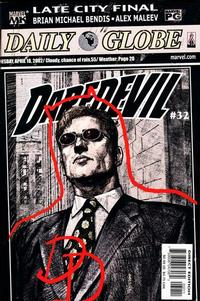 Cover Thumbnail for Daredevil (Marvel, 1998 series) #32 [Direct Edition]