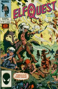 Cover Thumbnail for ElfQuest (Marvel, 1985 series) #1 [Direct Edition]