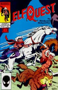 Cover Thumbnail for ElfQuest (Marvel, 1985 series) #7 [Direct]