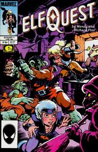 Cover Thumbnail for ElfQuest (Marvel, 1985 series) #11 [Direct]