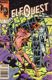 Cover Thumbnail for ElfQuest (Marvel, 1985 series) #17 [Newsstand]