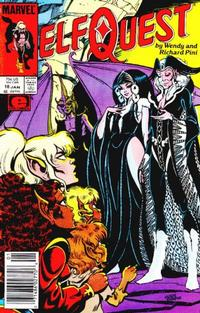 Cover Thumbnail for ElfQuest (Marvel, 1985 series) #18 [Newsstand]